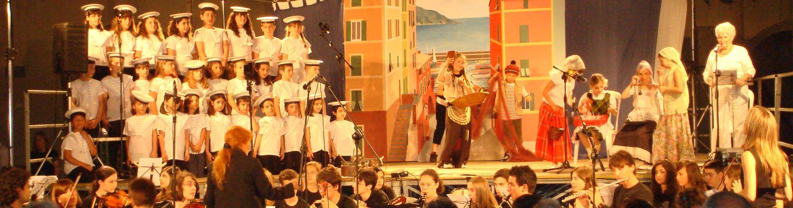 Teatro musicale con i bambini e ragazzi Genova