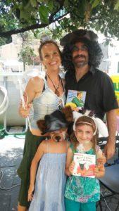 Trilli, il Pirata e due fan del Lupo e la Capretta