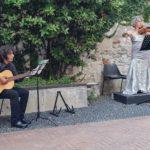 Il violino e la chitarra, intima amica...